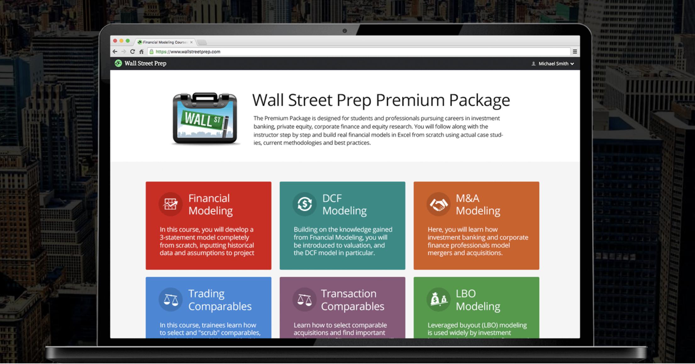 Wall Street Prep ー手を動かしながらファイナンスを学ぶ
