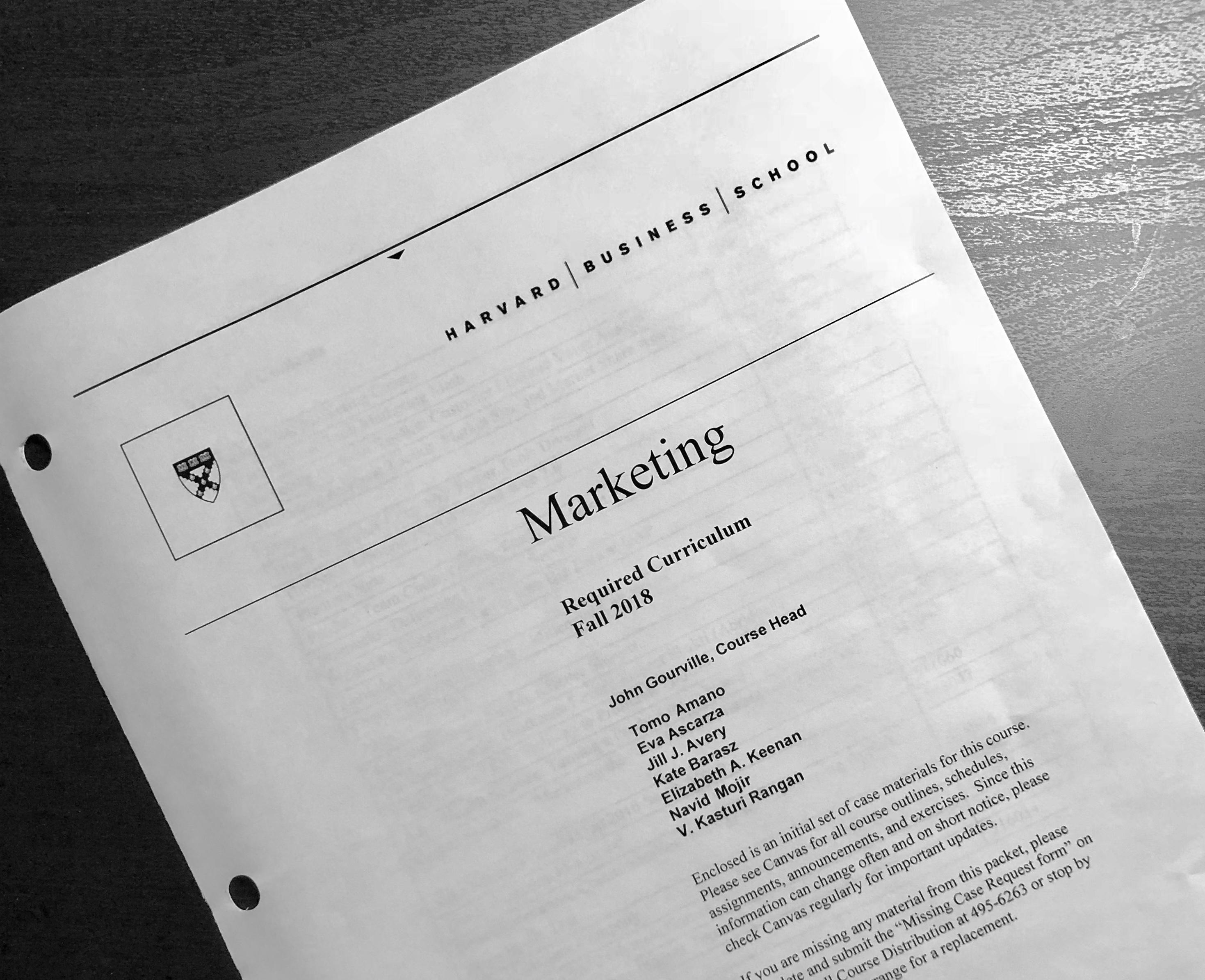 1st Semester 授業紹介:Marketing
